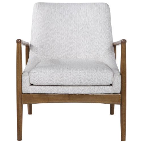 Bev White 27-Inch Arm Chair