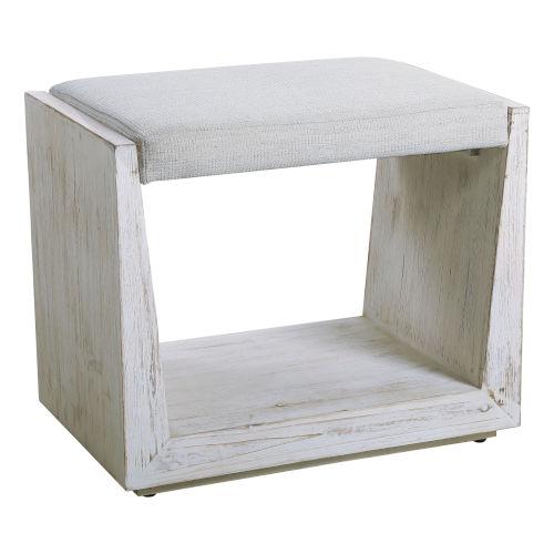 Cabana White Bench