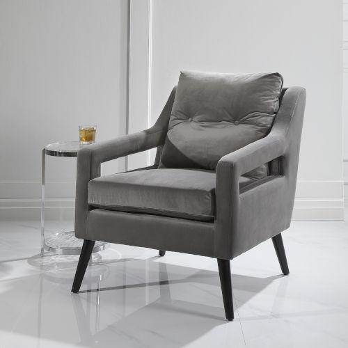 OBrien Black Armchair