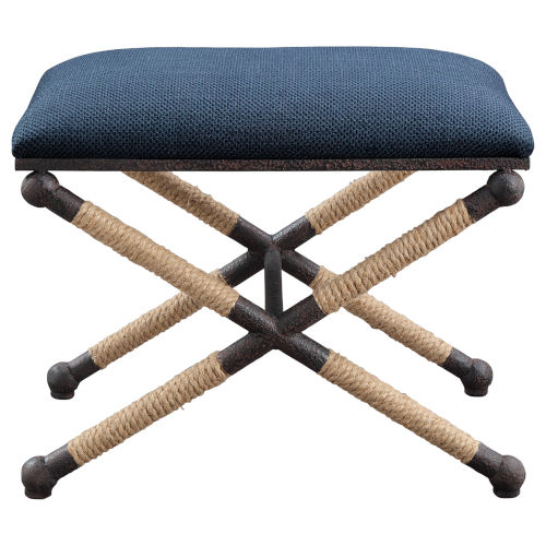 Firth Small Navy Blue Bench