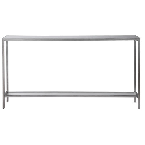 Hayley Antique Silver Leaf Console Table