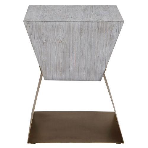 Joplin Gray 20-Inch Square Accent Table