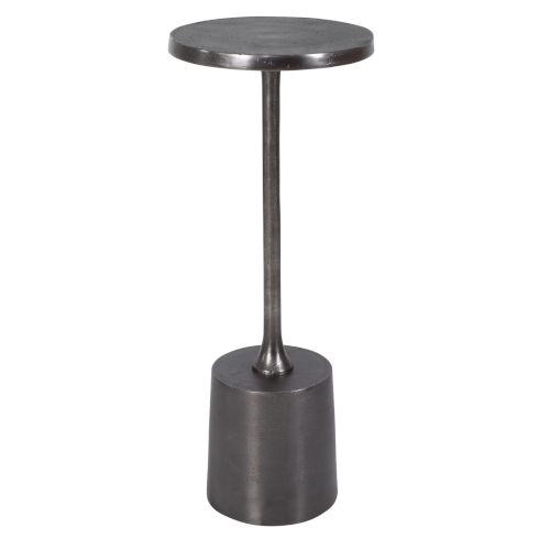 Sanaga Antique Nickel End Table