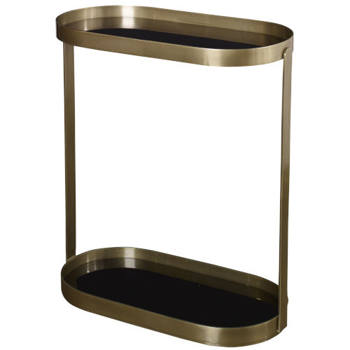 Adia Antique Gold End Table