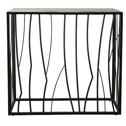 Reed Dark Iron 36-Inch Console Table