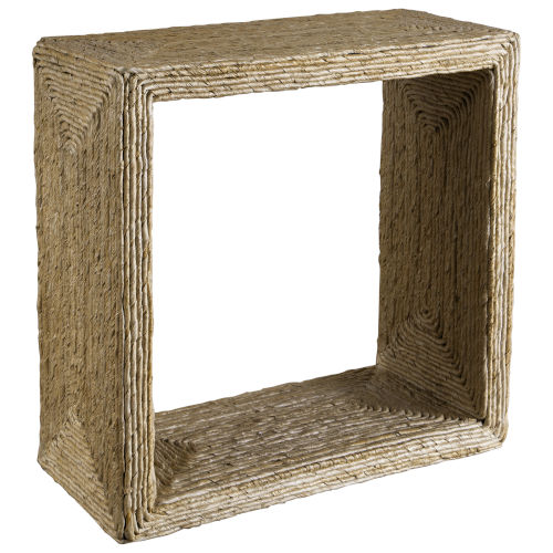 Rora Brown 22-Inch Uttermost Rora Woven Side Table