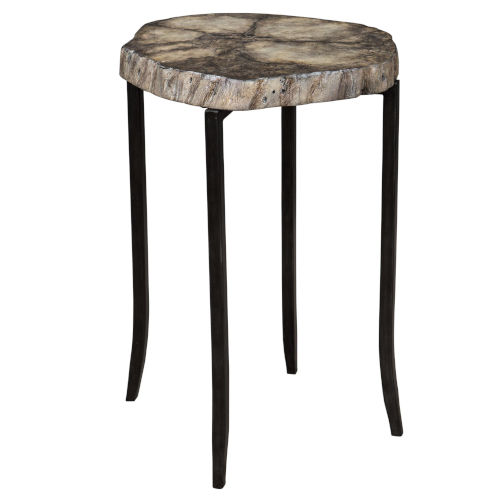 Stiles Rustic Accent Table