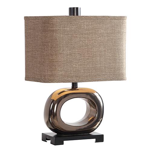 Feldman Bronze One-Light Table Lamp