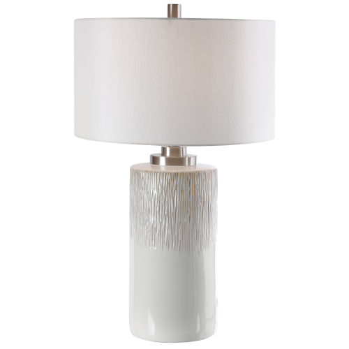 Georgios Brushed Nickel Table Lamp