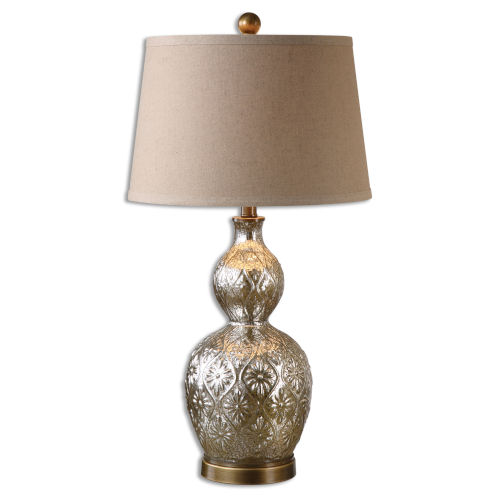 Diondra Brass One-Light Table Lamp, Set of 2
