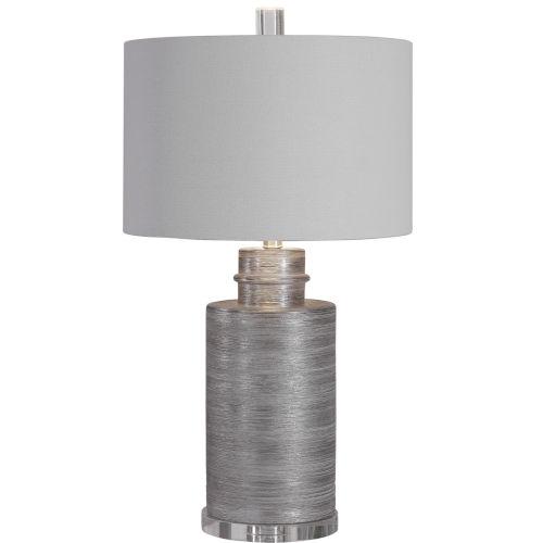 Anitra Metallic Silver 1-Light Table Lamp