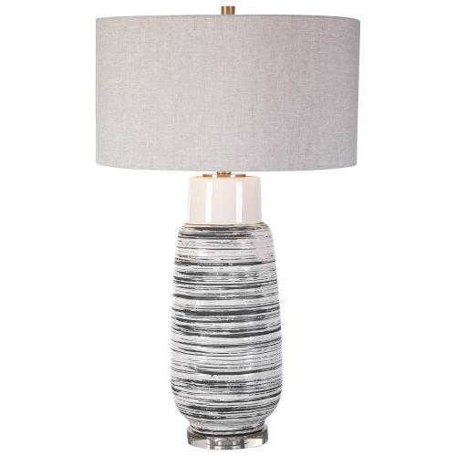 Magellan Ivory One-Light Table Lamp