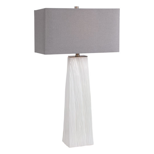 Sycamore White One-Light Table Lamp