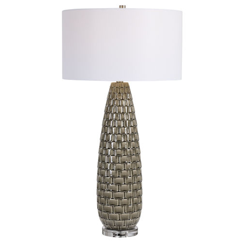 Belregard Gray Table Lamp