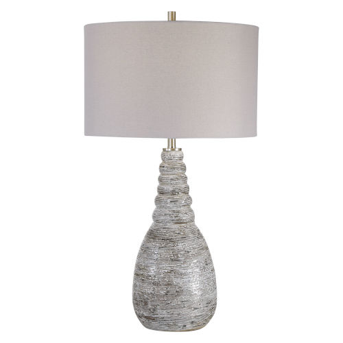 Arapahoe Rust Brown and Gray One-Light Table Lamp