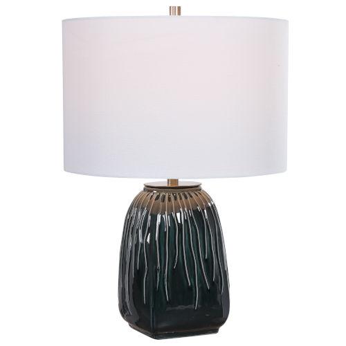 Marimo Deep Teal One-Light Table Lamp