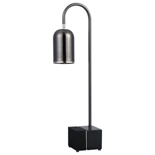 Umbra Black Nickel One-Light Desk Lamp