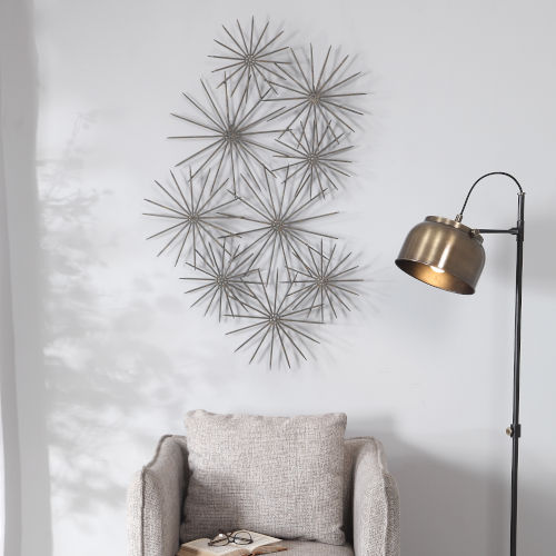 Nixie Patina, Gold and Rust Wall Decor