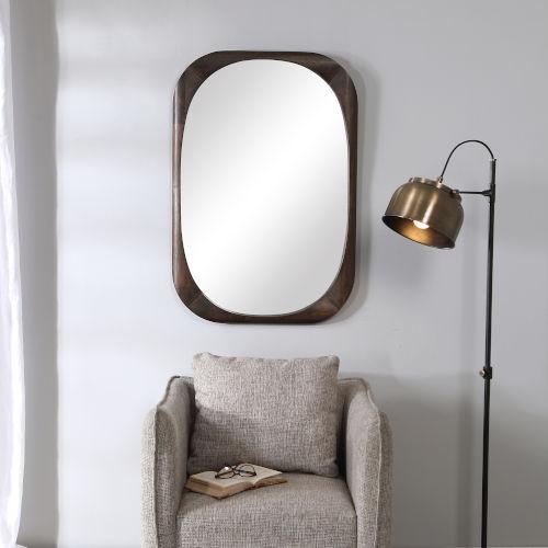 Sheldon Dark Walnut Mirror