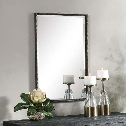 Callan Bronze and Aged Gold Vanity Mirror
