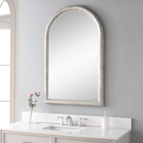 Champlain Aged Gray Arch Mirror