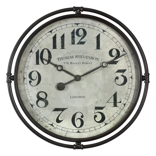 Nakul Industrial Wall Clock