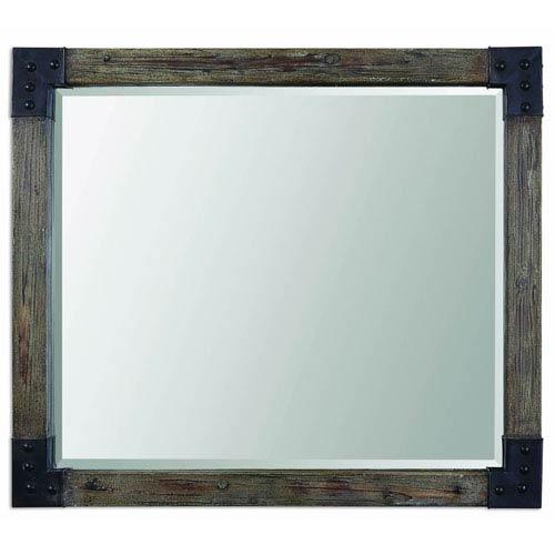 Uttermost Nelo Weathered Wood Mirror