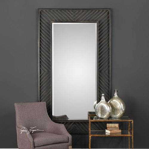 Karel Rectangular Chevron Mirror