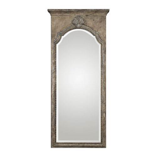 Nevola Antiqued Silver Mirror