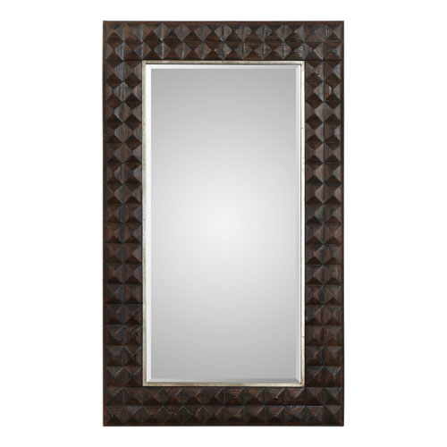 Aperia Walnut Oversized Mirror