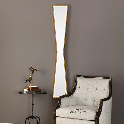 Corbata Gold Irregular Mirror