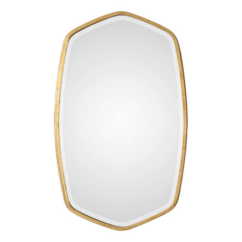 Uttermost Duronia Antiqued Gold Mirror