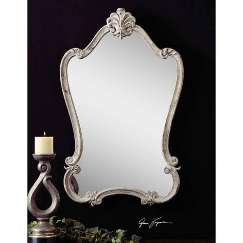 Antique White Walton Hall Mirror