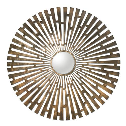 Tremeca Brass Starburst Mirror