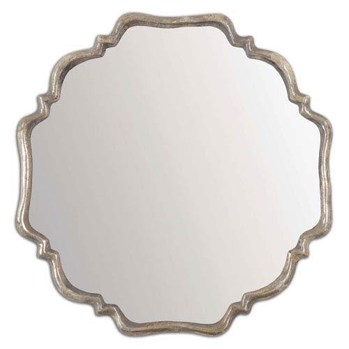 Valentia Silver 33-Inch Mirror