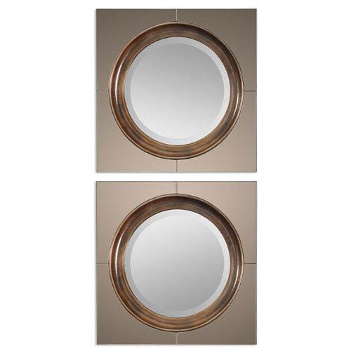 Gouveia Antique Gold Modern Mirror