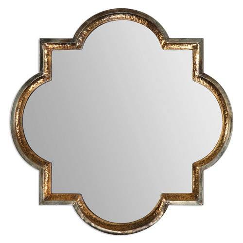 Uttermost Lourosa Antique Gold 39.75-Inch Mirror