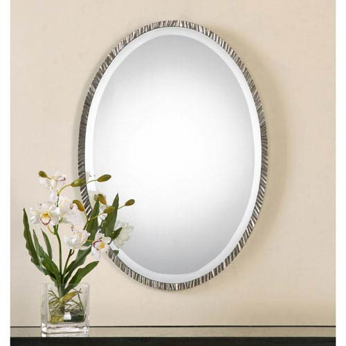 Annadel Polished Nickel Wall Mirror