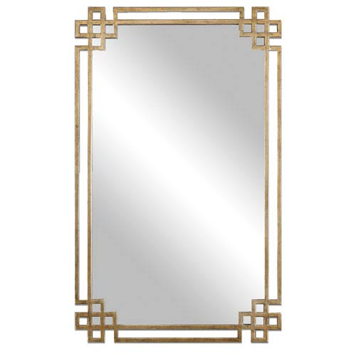 Uttermost Devoll Antique Gold Mirror