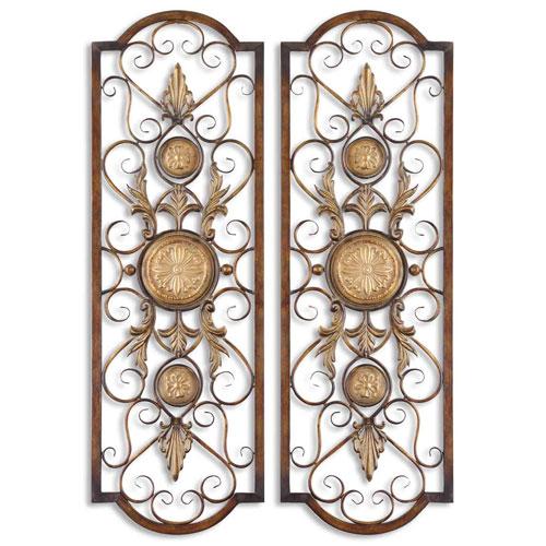 Micayla Metal Panel, Set of Two