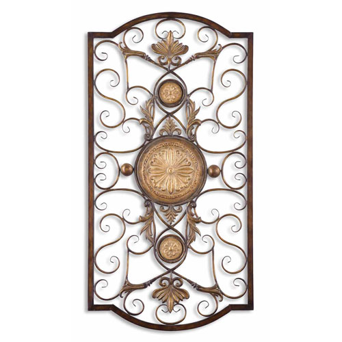 Uttermost Micayla Large Metal Wall Decor