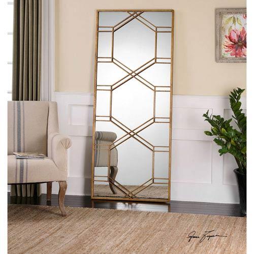 Kennis Gold Leaner Mirror