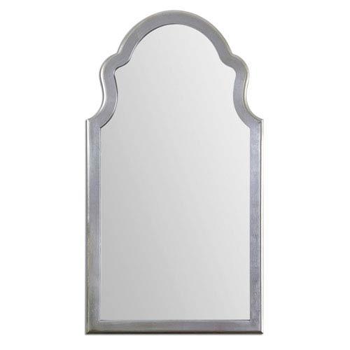 48 inch mirror counter uttermost brayden silver leaf 48inch beveled mirror 48 inch 14479 bellacor