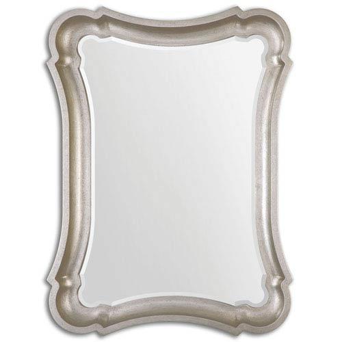 Uttermost Anatolius Antiqued Silver Leaf Mirror