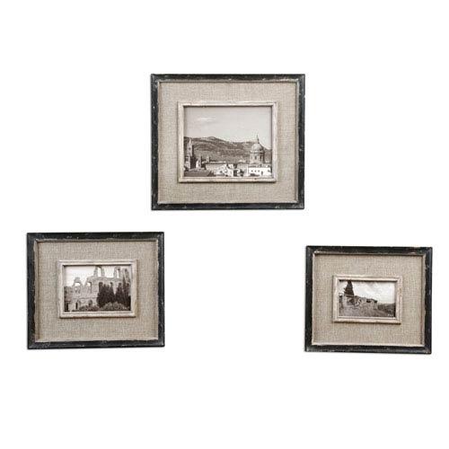 Uttermost Kalidas Photo Frames, Set Of Three 18537 | Bellacor