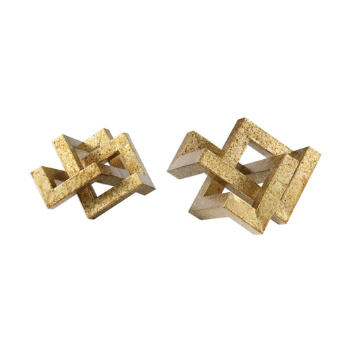 Ayan Gold Accents, Set of 2