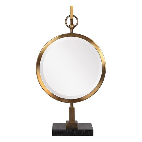 Nori Bronze Tabletop Mirror