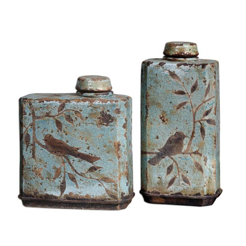 Freya Containers, Set of Two