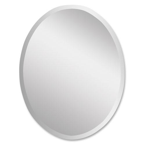 Frameless Oval Mirror- Small