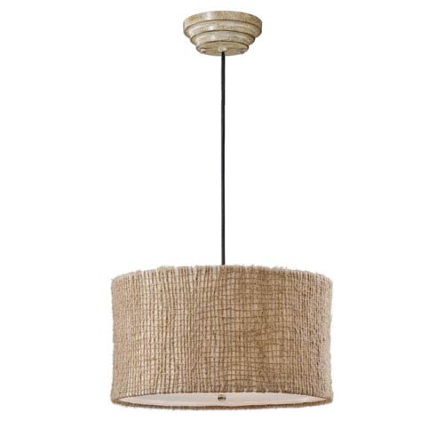 Uttermost Burleson Three-Light Drum Pendant